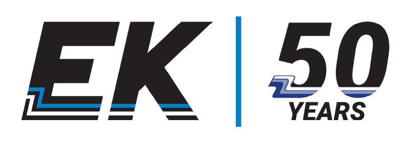50th Anniversary EK Logo